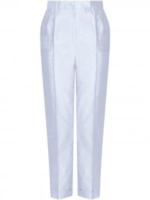 Брюки строгого кроя с завышенной талией Dolce & Gabbana. Цвет: b1581 sky голубой