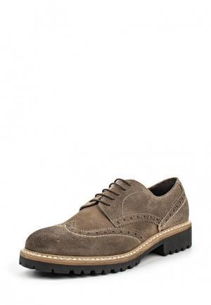 Туфли Bata. Цвет: коричневый