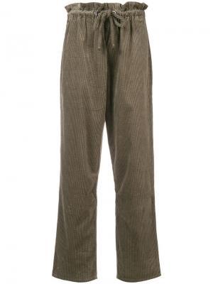 Papy corduroy trousers Antik Batik. Цвет: серый