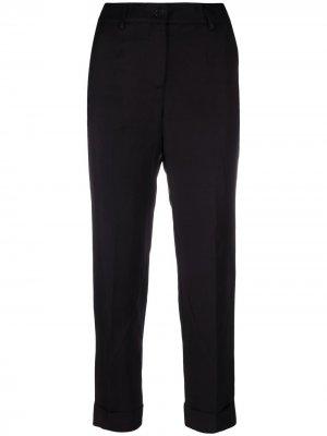 Прямые брюки P.A.R.O.S.H.. Цвет: черный