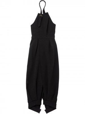Платье с вырезом халтер Proenza Schouler. Цвет: черный