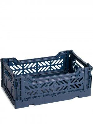 Ящик для хранения Hay. Цвет: синий