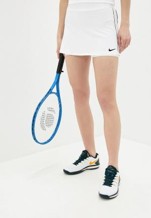 Юбка-шорты Nike. Цвет: белый