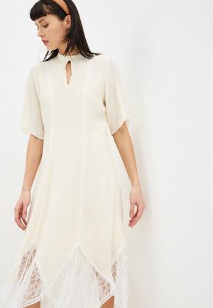Платье See by Chloe. Цвет: бежевый