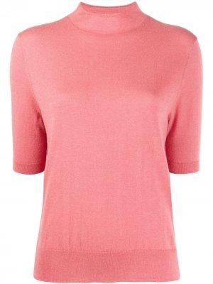 Джемпер Evelyn с короткими рукавами Filippa K. Цвет: розовый