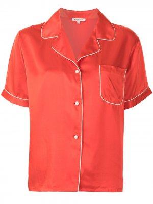 Пижамная рубашка Katelyn Morgan Lane. Цвет: красный