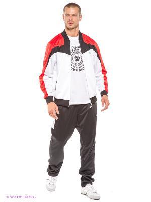 Спортивный костюм ADDIC. Цвет: черный, белый, красный
