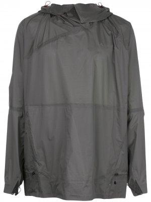 Куртка с капюшоном Klättermusen. Цвет: зеленый