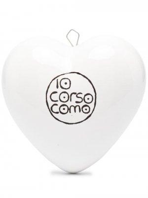 Пресс-папье в форме сердца 10 CORSO COMO. Цвет: белый