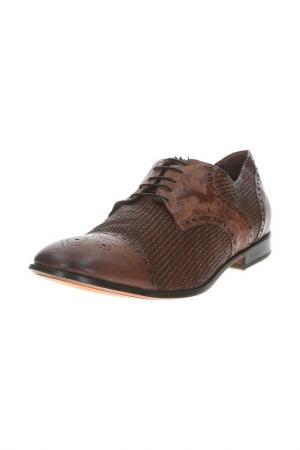 Туфли RAPARO. Цвет: коричневый