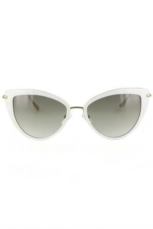 Очки солнцезащитные Byblos. Цвет: белый