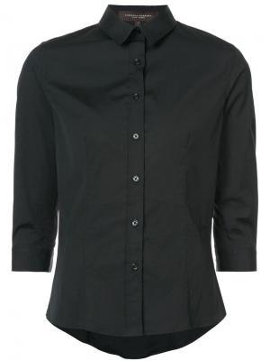 Рубашка с рукавами длиной три четверти Carolina Herrera. Цвет: черный