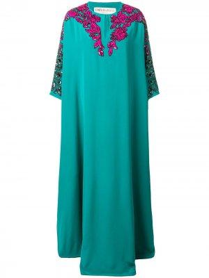 Embellished kaftan dress Emilio Pucci. Цвет: зеленый
