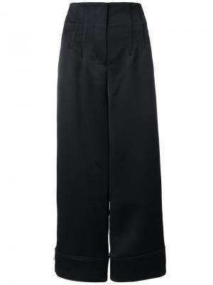 Укороченные строгие брюки 3.1 Phillip Lim. Цвет: синий