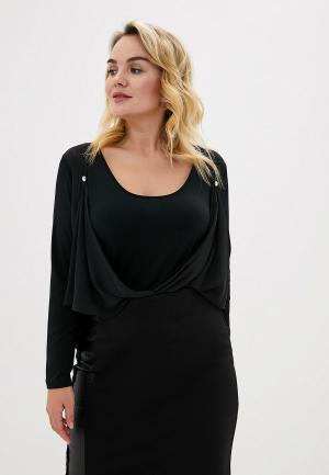 Блуза Over. Цвет: черный