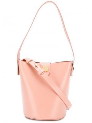 Мини-сумка Swing Sophie Hulme. Цвет: розовый
