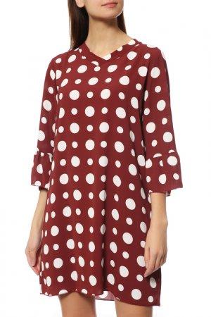 Платье Almatrichi. Цвет: бордовый