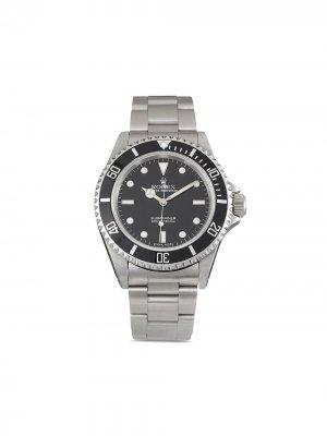 Наручные часы Submariner pre-owned 40 мм Rolex. Цвет: черный