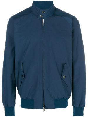 Stand collar jacket Engineered Garments. Цвет: синий