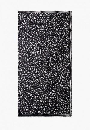 Платок Karl Lagerfeld. Цвет: черный