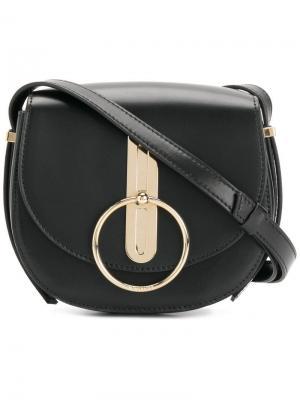 O-ring shoulder bag Nina Ricci. Цвет: черный