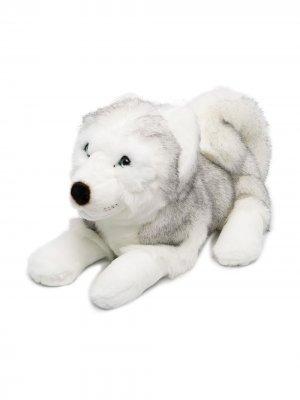 Мягкая игрушка хаски Leonard 45 см La Pelucherie. Цвет: серый