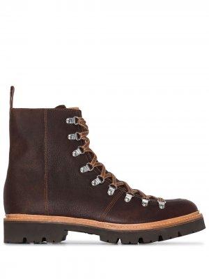 Ботинки хайкеры Brady Grenson. Цвет: коричневый
