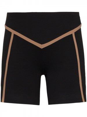 Облегающие шорты Ernest Leoty. Цвет: черный