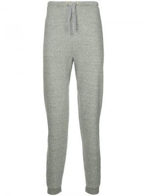 Спортивные брюки с карманом сзади Makavelic. Цвет: серый