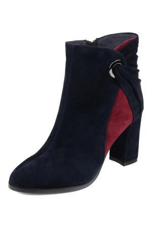 Ботинки MARIE COLLET. Цвет: синий