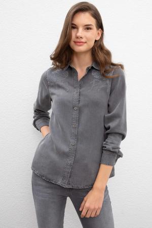 Рубашка U.S. POLO ASSN.. Цвет: dn0025 серый