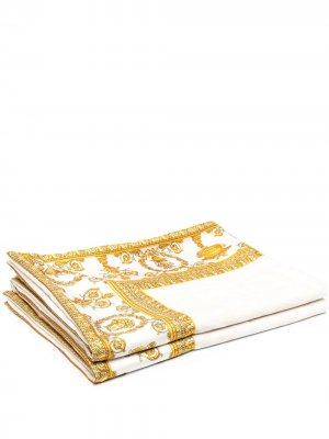 Скатерть с принтом Versace Home. Цвет: нейтральные цвета