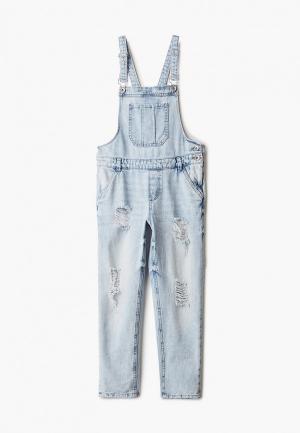 Комбинезон джинсовый OVS. Цвет: голубой