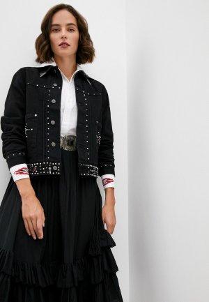 Куртка джинсовая Polo Ralph Lauren. Цвет: черный