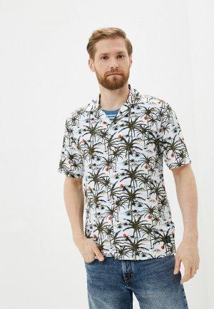 Рубашка Shine Original. Цвет: разноцветный