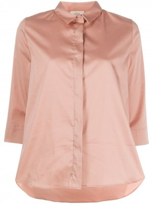 Рубашка с рукавами три четверти Altea. Цвет: розовый