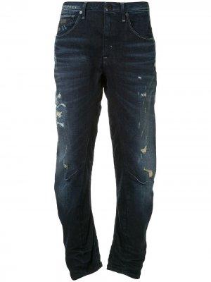 Зауженные джинсы Arc 3D Kate G-Star RAW. Цвет: синий