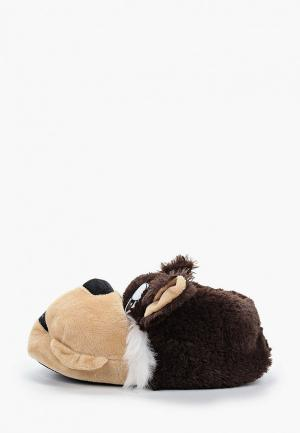 Тапочки Beppi. Цвет: коричневый