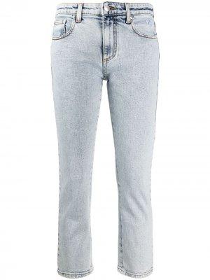 Укороченные джинсы MSGM. Цвет: синий