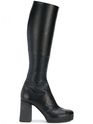 Knee high boots Chalayan. Цвет: черный