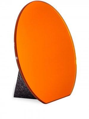 Настольное зеркало Dita Pulpo. Цвет: оранжевый