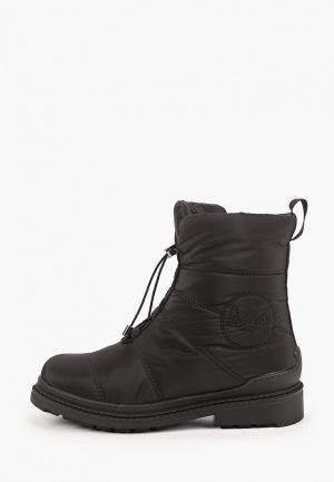 Ботинки Mon Ami. Цвет: черный