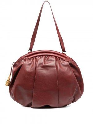 Большая сумка-хобо Rodo. Цвет: красный