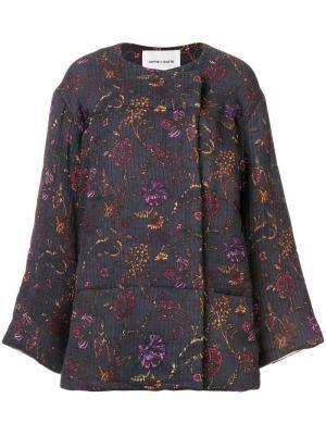 Alina floral print jacket Antik Batik. Цвет: синий