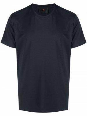 Базовая футболка Peuterey. Цвет: синий