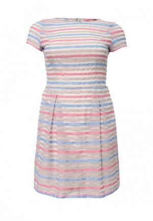 Платье Steilmann. Цвет: разноцветный