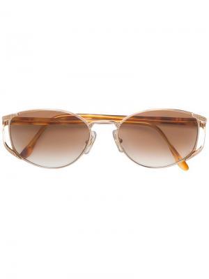 Солнцезащитные очки Emanuel Ungaro Pre-Owned. Цвет: коричневый