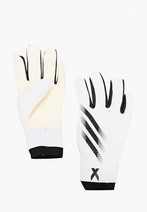 Перчатки вратарские adidas. Цвет: белый