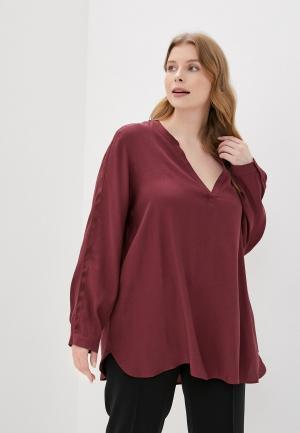 Блуза Samoon by Gerry Weber. Цвет: бордовый