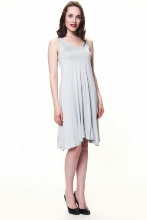 Платье Levall. Цвет: серый люкс